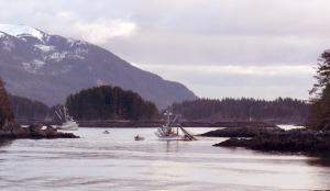 Herring boats fish near the end of the Rocky Gutierrez Airport runway during a 2006 herring opening.