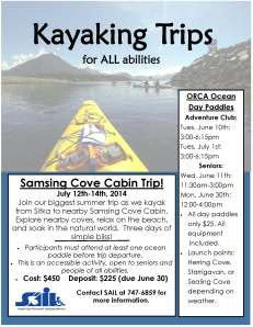 Samsing Kayak Flyer