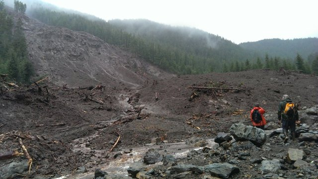 Starrigavan slide area (Photo courtesy USDA Forest Service)