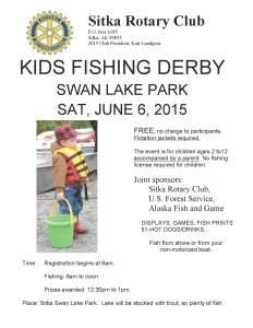 15-4 kids fish derby poster