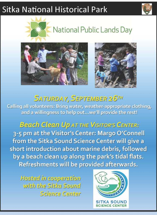 National Public Lands Day 2015 Flyer
