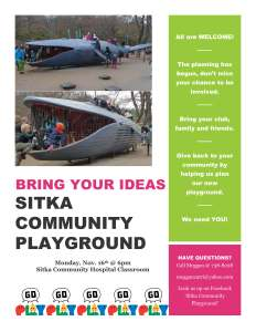 Sitka Community PLayground