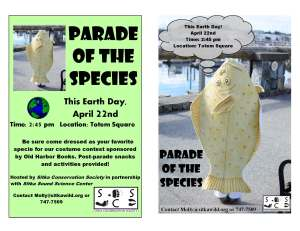 Parade of the Species Flyer