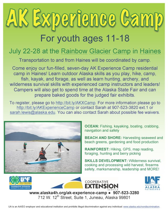 AK Experience Camp gives youth a chance to experience Alaska